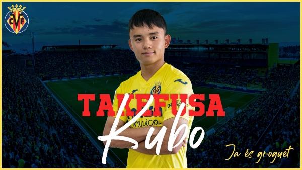 Takefusa Kubo llega cedido al Villarreal