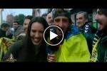 VÍDEO | 'El Chiringuito' muestra cómo vivió la afición cadista el desplazamiento a Getafe
