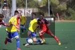 FOTOGALERÍA: Balón de Cádiz CF Juvenil - Gimnasio Goyu-Ryu (1-1)