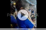VÍDEO |  La emoción e ilusión de la pequeña Candela con su Cádiz CF que te contagiará