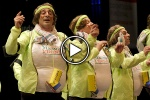 VÍDEO | Primer pasodoble dedicado a Álvaro Cervera en los Carnavales